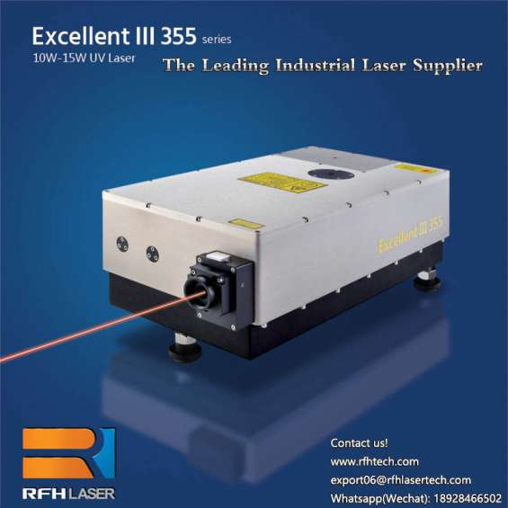 Ruifengheng uv laser is used in wafer micro-hole and blind hole processing and scribing